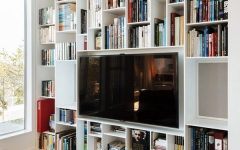 Tv In Bookcases