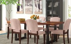 Evellen 5 Piece Solid Wood Dining Sets (set of 5)