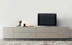 Cream High Gloss Tv Cabinets