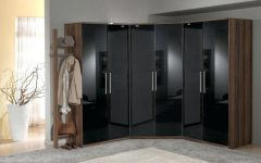 Black Shiny Wardrobes