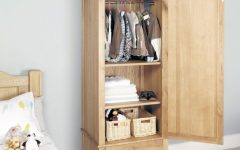 Single Wardrobes With Drawers And Shelves