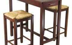 Winsome 3 Piece Counter Height Dining Sets
