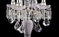 Faux Crystal Chandelier Table Lamps