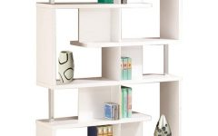 Chantilly Geometric Bookcases