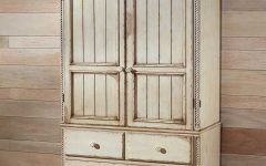 White Antique Wardrobes