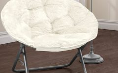 Rosati Mongolian Fur Papasan Chairs