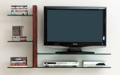 Flat Screen Shelving