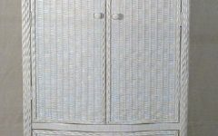 White Wicker Wardrobes