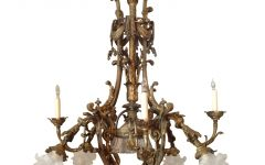 French Bronze Chandelier
