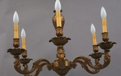 Vintage Brass Chandeliers