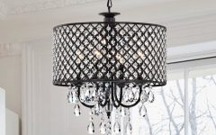 Gisselle 4-light Drum Chandeliers