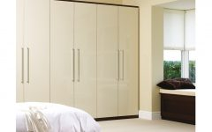 Cream Gloss Wardrobes
