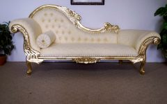 Gold Chaise Lounge Chairs
