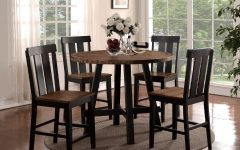 Goodman 5 Piece Solid Wood Dining Sets (set of 5)