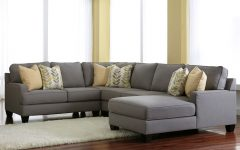 Gray Sectionals with Chaise