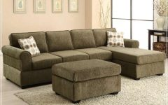 Green Sectional Sofas With Chaise