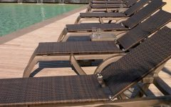 Commercial Outdoor Chaise Lounge Chairs