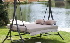 Garden Leisure Outdoor Hammock Patio Canopy Rocking Chairs