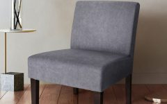 Harland Modern Armless Slipper Chairs