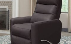 Hercules Chocolate Swivel Glider Recliners