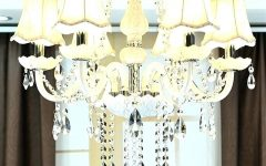 Chandeliers with Lamp Shades