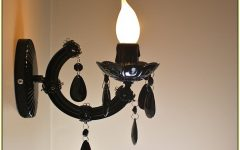 Black Chandelier Wall Lights