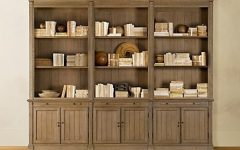 Bookcases With Bottom Cabinets