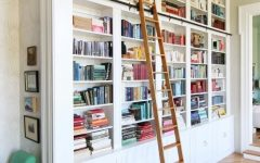 Bookcases with Ladder