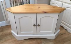Shabby Chic Corner Tv Unit