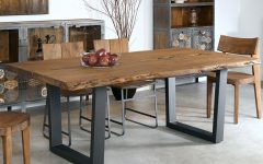 Iron Wood Dining Tables