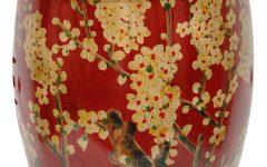 Irwin Blossom Garden Stools