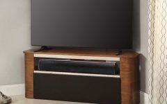 Walnut Corner Tv Stands
