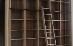 Bookcases With Ladder And Rail