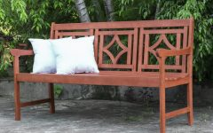 Amabel Patio Diamond Wooden Garden Benches