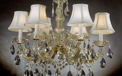 Crystal Chandeliers With Shades