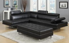 Leather Sectionals with Ottoman
