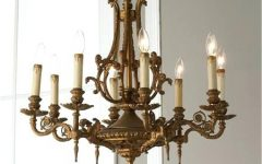 Old Brass Chandeliers