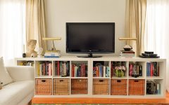 Bookcases with Tv Shelf