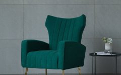 Lauretta Velvet Wingback Chairs