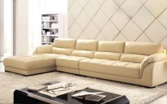 Leather L Shaped Sectional Sofas