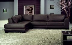 Genuine Leather Sectionals With Chaise