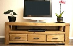 Light Oak Tv Stands Flat Screen