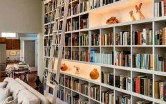 Full Wall Bookshelves