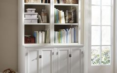 Bookcases with Cabinet Base