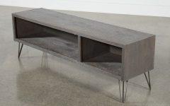 Melrose Titanium 65 Inch Lowboy Tv Stands