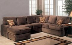 Microfiber Sectional Sofas With Chaise