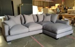 Goose Down Sectional Sofas