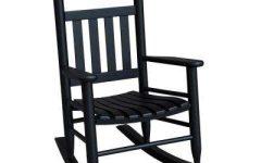 Black Patio Rocking Chairs