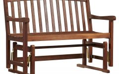 Low Back Glider Benches