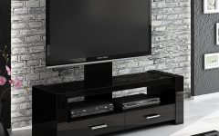 Black Gloss Tv Cabinets